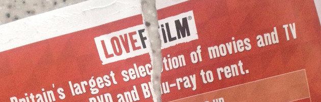 A torn Lovefilm envelope. Image shamelessly stolen from http://www.eurogamer.net/articles/2017-08-15-dvd-and-blu-ray-rental-service-lovefilm-by-post-to-be-closed-forever-on-halloween