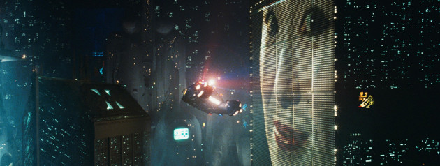 That massive advertising billboard from Bladerunner. Yeah, it's a bit of a tenuous connection.
