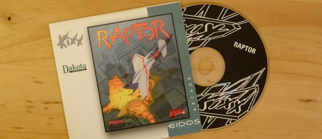 The original Raptor CD and case